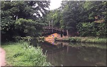 SU9948 : Bridge over the River Wey Navigation by Chris Thomas-Atkin