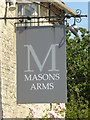 SU1199 : Masons Arms inn sign by Philip Halling