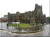 SS6593 : Swansea Castle by Gareth James