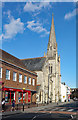 SU1430 : United Reformed Church, Fisherton Street, Salisbury by Julian Osley