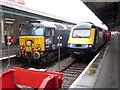 SS6593 : Railtour at Swansea by Gareth James