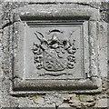 NJ7026 : Dalrymple-Horn-Elphinstone arms by Bill Harrison