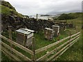 NM8745 : Beehives at Fennachrochan by Roy Smart