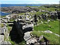 NM0449 : Dun Mor Broch, Tiree by Andrew Curtis