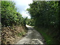 SW7117 : Lane heading east from Trerise by JThomas