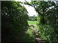 SW7122 : Farm track off the B3293 by JThomas