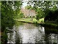 SU3227 : River Test, Mottisfont Abbey by David Dixon