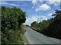 SW7330 : Minor road towards Falmouth by JThomas