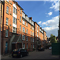 TQ3276 : Five-storey tenements, Peabody Trust, Camberwell Green Estate, south London by Robin Stott