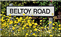 J4389 : Beltoy Road name sign, Kilroot, Carrickfergus (July 2017) by Albert Bridge