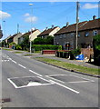 ST7082 : Cranleigh Court Road houses and speed bumps, Yate by Jaggery