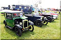 SJ7177 : Vintage Vehicles at the Royal Cheshire County Show by Jeff Buck