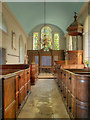 SU5332 : St Mary's Church, Nave by David Dixon