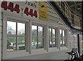 SX8671 : Reflections at Newton Abbot station by Derek Harper