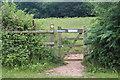 ST2888 : Footpath gate on Sirhowy Valley Walk by M J Roscoe