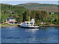 NN0263 : The Corran Ferry at the Nether Lochaber Slipway by David Dixon