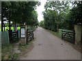TL4866 : Entrance to Emmaus by Hugh Venables