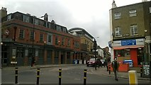 TQ3075 : The Clapham North pub and the end of Landor Road by Christopher Hilton