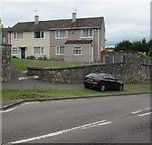 ST3090 : Houses at the SE edge of Pillmawr Circle, Malpas, Newport by Jaggery