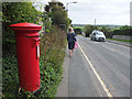 SW8061 : Post Box on Tregunnel Hill by Gary Rogers