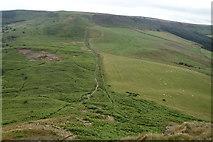 NZ5812 : Descending Roseberry Topping by Michael Graham