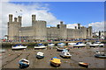 SH4762 : Caernarfon Castle by Jeff Buck