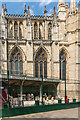 SE6052 : York Minster Stoneyard - Masons' Lodge by Ian Capper