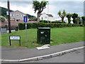 SO2613 : BT telecoms cabinet, The Avenue, Govilon by Jaggery