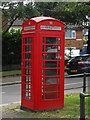 TQ3194 : K6 telephone box on The Green, Winchmore Hill by Paul Bryan