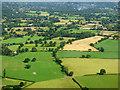 SJ7980 : Farmland near Kimbles from the air by Thomas Nugent