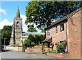 SK6205 : St Mary's church in Humberstone by Mat Fascione