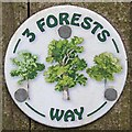 TL4201 : Three Forests Way by Glyn Baker
