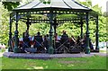 SO9570 : Concert in Sanders Park, Bromsgrove, Worcs by P L Chadwick