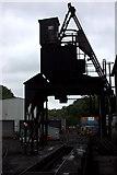 NZ8204 : Grosmont coaling stage by Robert Eva
