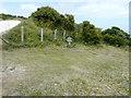 TR3342 : Site for a sculpture (A) by John Baker