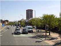 J3274 : West Belfast, Divis Street by David Dixon