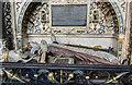 SP2864 : Detail of Robert Dudley tomb, St Mary's church, Warwick by Julian P Guffogg