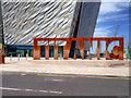 J3575 : Titanic Belfast Cutout by David Dixon