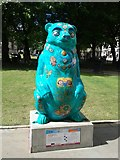 SP0787 : Birmingham Big Sleuth We Are Going on a Hundertwasser Bear by Roy Hughes