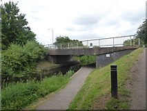 ST2325 : Western Venture Way bridge over Bridgwater and Taunton Canal by David Smith