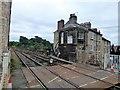 SE3457 : Railway tracks on the Knaresborough Viaduct by Richard Humphrey