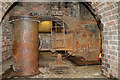 SJ4912 : Coleham Head Pumping Station - sewage pump by Chris Allen