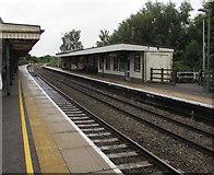 SU3521 : Romsey railway station, Hampshire  by Jaggery
