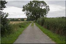 SK2926 : A public footpath by Malcolm Neal