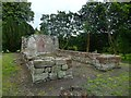 NS3975 : The ruins of St Serf's Church by Lairich Rig