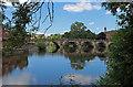 SJ4912 : Bridge over the River Severn, Shrewsbury by Chris Allen