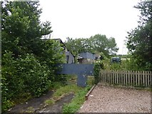 SX9690 : Old stables and outbuildings, Clyst Road by David Smith