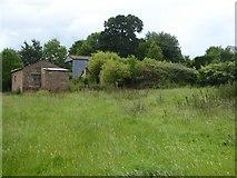 SX9891 : Farm buildings near Bishop's Court by David Smith
