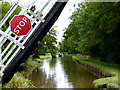 SJ5847 : Llangollen Canal west of Wrenbury in Cheshire by Roger  Kidd