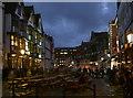 ST5872 : King Street at night by Neil Owen